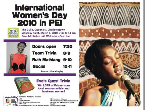 IWD 2010 Poster