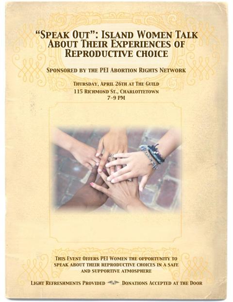 Speak Out Flyer Image