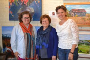 L-R: PEI Status of Women Executive Director Jane Ledwell, Council member Yvonne Deagle, and Program Coordinator, Michelle Jay, in Summerside recently.