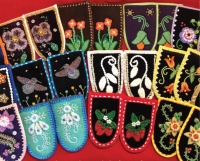 Moccasin Vamps -  Image used with permission from Walking with Our Sisters.