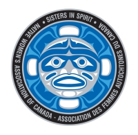 "NWAC Sisters in Spirit logo ""Grandmother Moon"" NWAC Sisters in Spirit logo ""Grandmother Moon""/"" Grandmère Lune "" est le logo du projet Soeurs par l""esprit de l""AFAC"