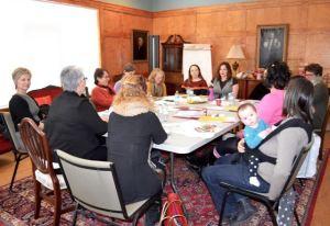 PEIACSW members meet with Min. Biggar, February 2017