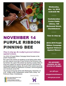 2018-purple-ribbon-pinning-bee-poster